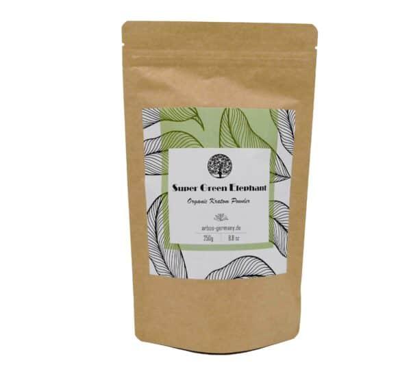 Super Green Elephant Produktverpackung