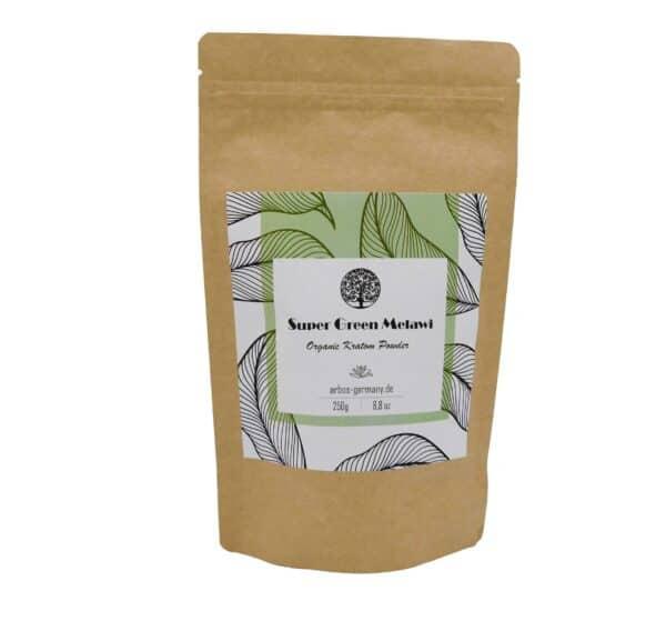 Super Green Melawi Produktverpackung