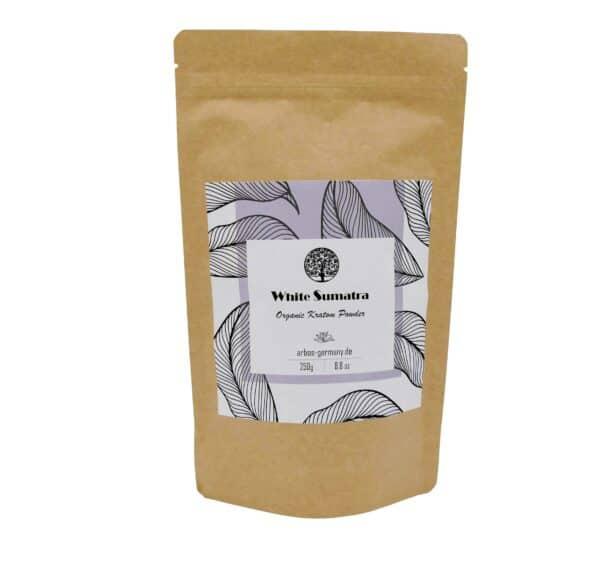 White Sumatra Produktverpackung