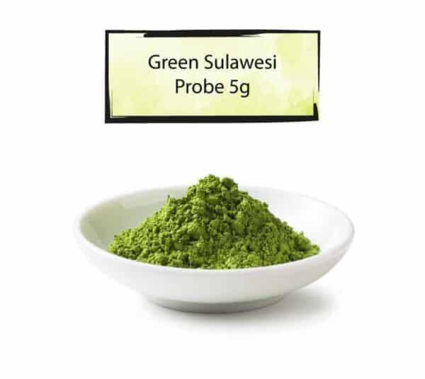 Schüssel Green Sulawesi Pulver