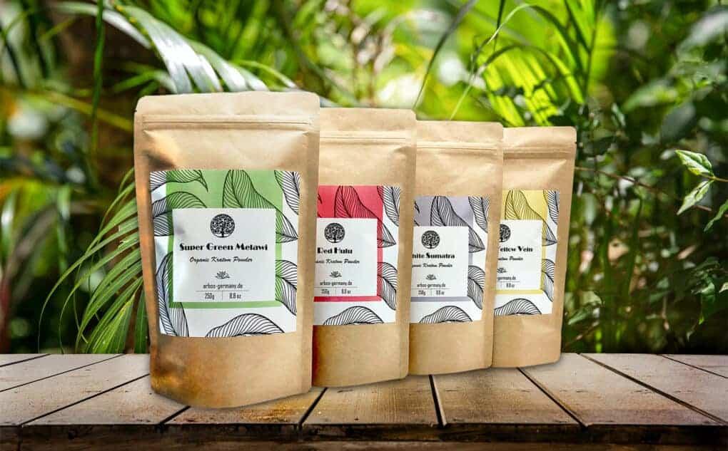 4 Produkte lagern Kratom
